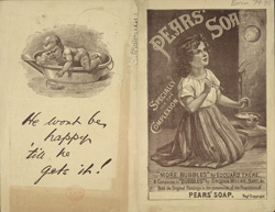 Advertisement for Pears' Soap(014EVA000000000U07490000)